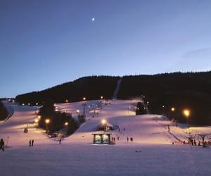 beautiful, winter, and winter wonderland image