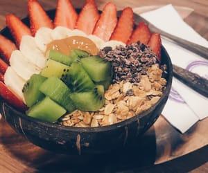acai, granola, and healthy image