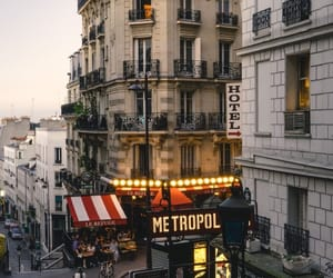 city, metropol, and buildings image