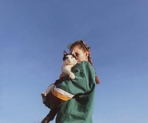 boho, cat, and fashion image