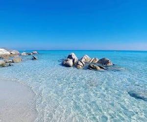 beach, italy, and Sardinia image