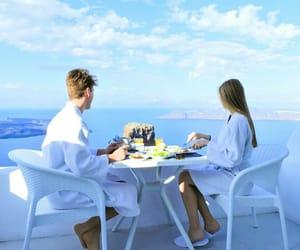 breakfast, couple, and nikitavd image