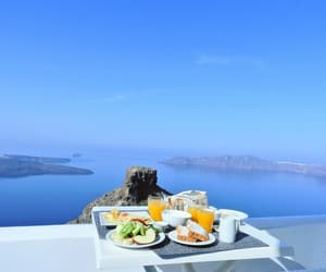 breakfast, nikitavd, and Greece image
