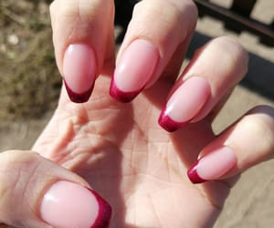 art, french, and nails design image