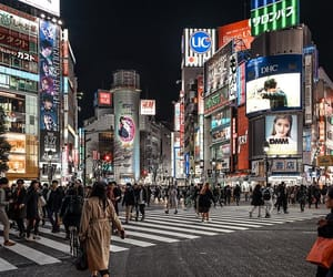 city life, japon, and photographie image