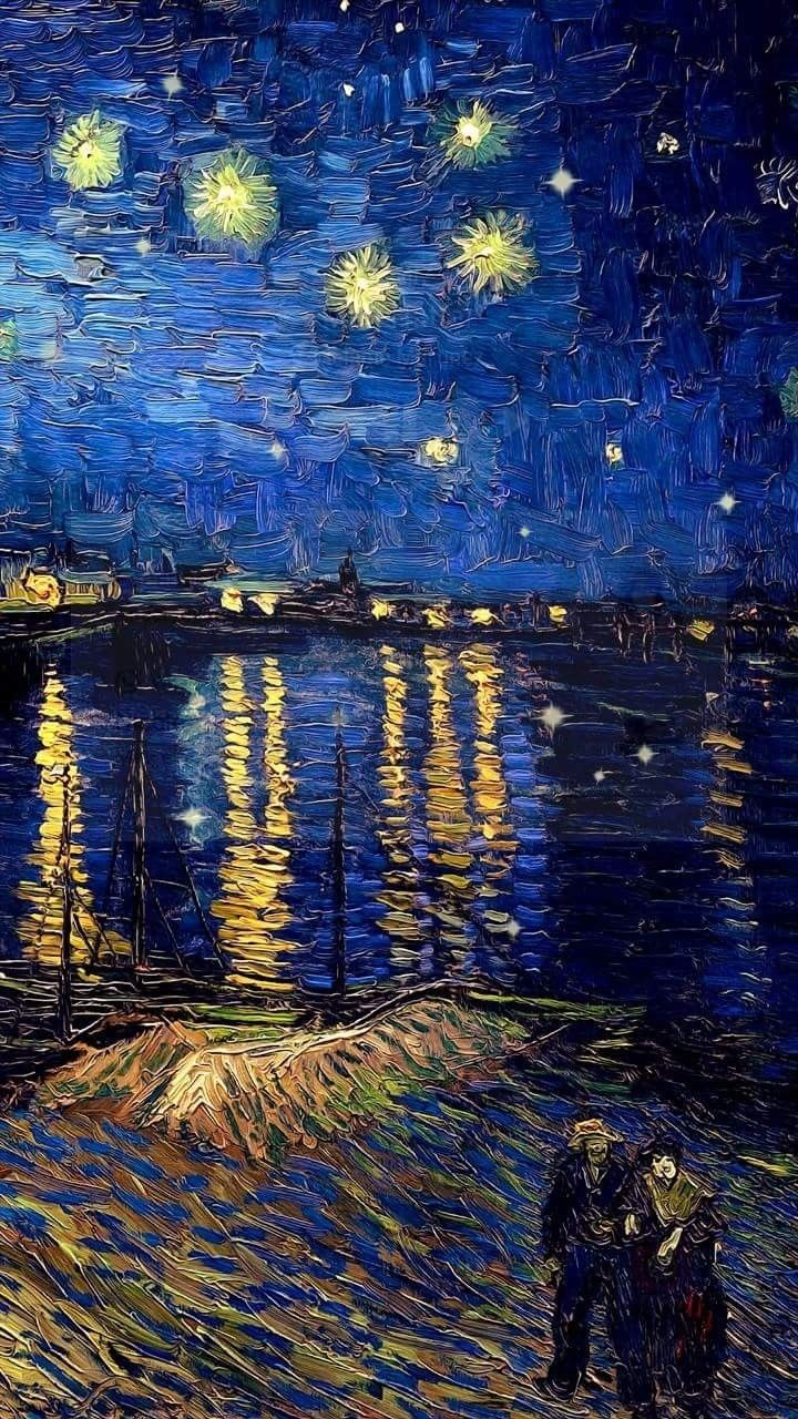 Starry Night Over The Rhone On We Heart It