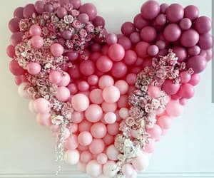 balloons, decor, and decoration image