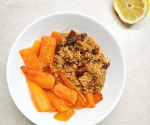carrots, vegan, and food image