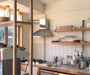 aesthetic, cafe, and kitchen image