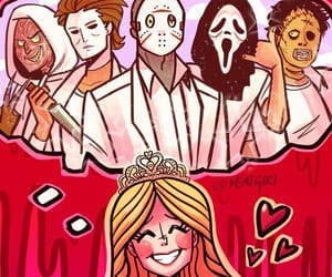 carrie, Halloween, and horror image