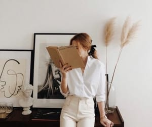 fashion, book, and art image