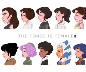 girl power, Princess Leia, and star wars image
