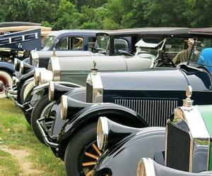 vintage cars, automotive photography, and pierce arrow cars image
