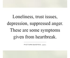 depressed, heartbreak, and lonely image