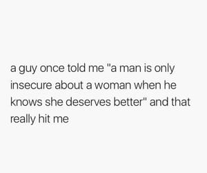 better, insecure, and men image