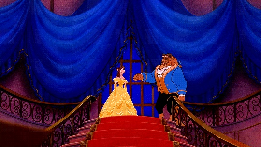beauty and the beast, disney, and dance image