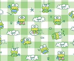 cute, frog, and keroppi image