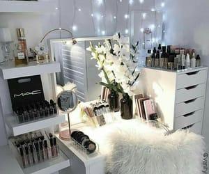 mac, makeup, and white image