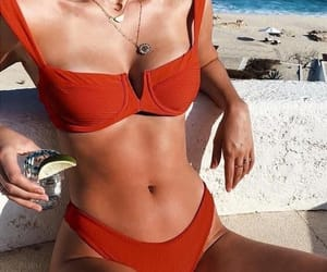 beach, body, and cocktail image