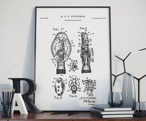 optometry art, etsy, and ophthalmology image