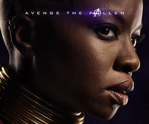 Marvel, Avengers, and okoye image