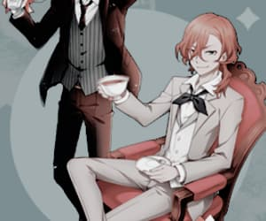 bungo stray dogs, bungou stray dogs, and soukoku image