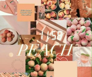 wallpaper, peach, and aesthetic image