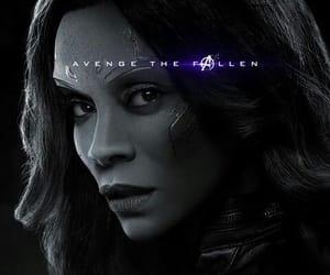 gamora, Marvel, and avengers endgame image