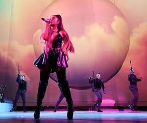 singer, ariana grande, and celebrity image
