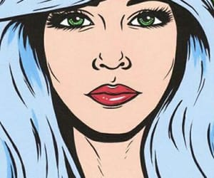 pop art, art, and background image