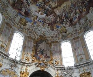 angel, god, and church image