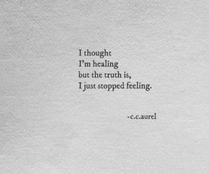 feelings, hurt, and NUMB image