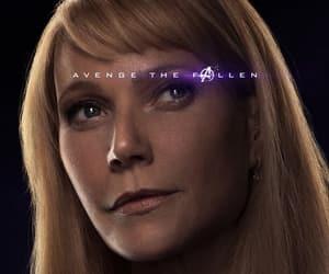 Marvel, pepper potts, and avengers endgame image