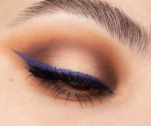 blu, blue, and make up image