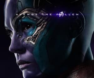 Avengers, Marvel, and nebula image
