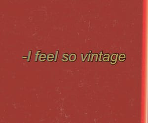 vintage, quotes, and red image