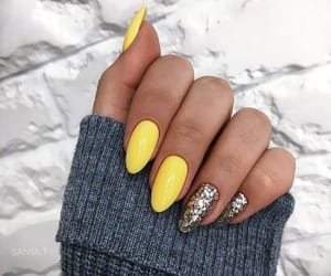 nails, beauty, and dress image