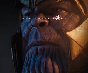 Avengers, endgame, and thanos image