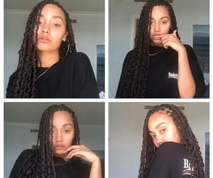 beauty, natural beauty, and braids image