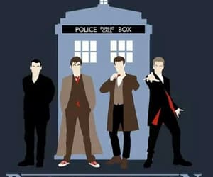 doctor who, david tennant, and regeneration image