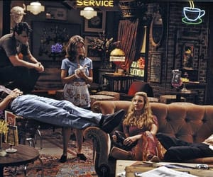 friends, tv show, and central perk image