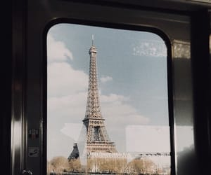 eiffel tower, paris, and travel image