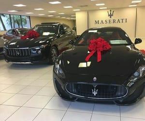 car, maserati, and rich image