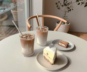 beige, food, and coffee image