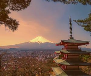 fujisan, japan, and mt fuji image