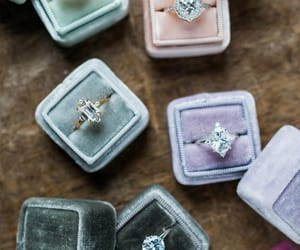 ring, pretty, and wedding image