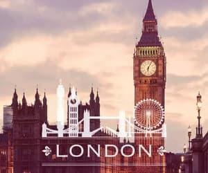 london, city, and Big Ben image