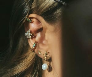 jewelry, fashion, and ear image