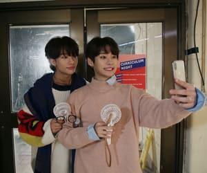 felix, han, and seungmin image