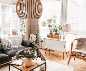 interior, livingroom, and Scandinavian image